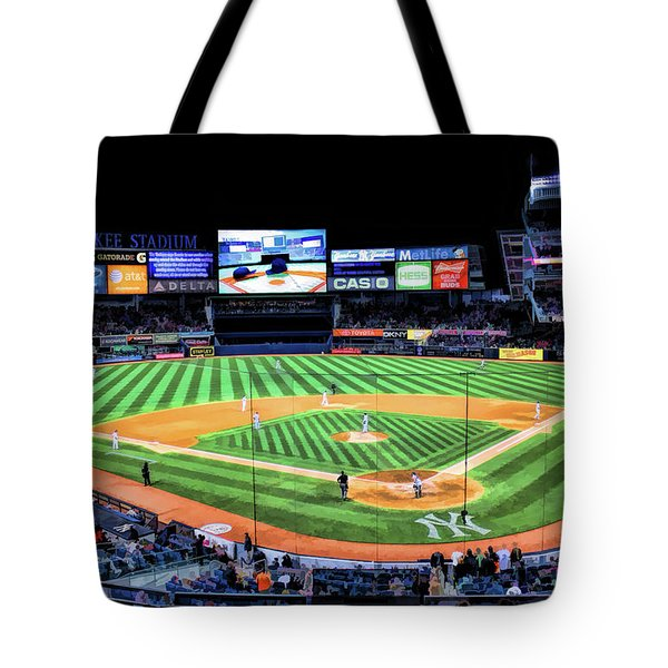 New York City Yankee Stadium Tote Bag