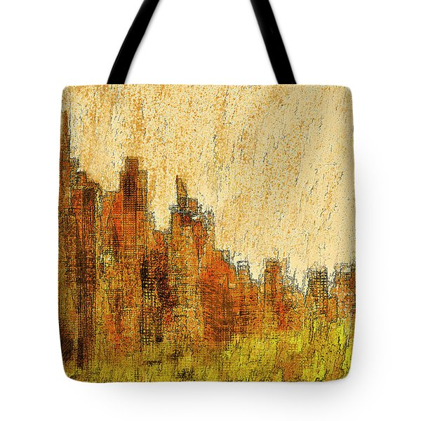 New York City In The Fall Tote Bag