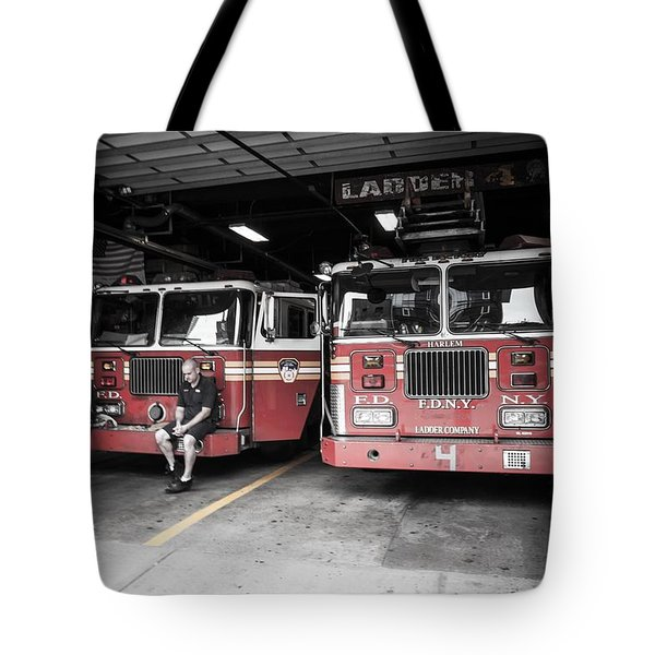 New York Fire Department Tote Bag