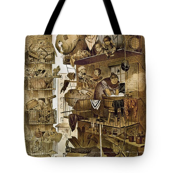 New York: Fire Escapes Tote Bag by Granger