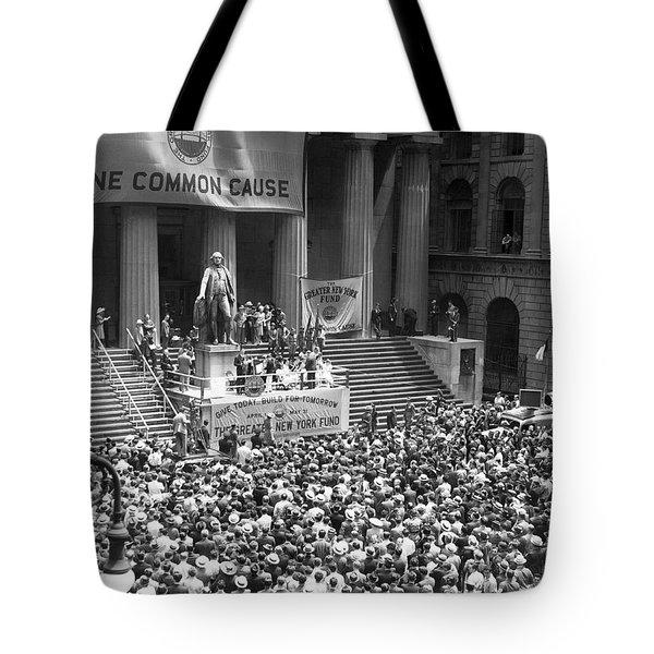 New York Fund Raiser Tote Bag