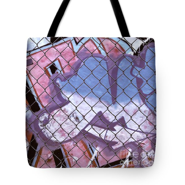 New York Graffiti Abstract Cities Photograph - New York New York Tote Bag
