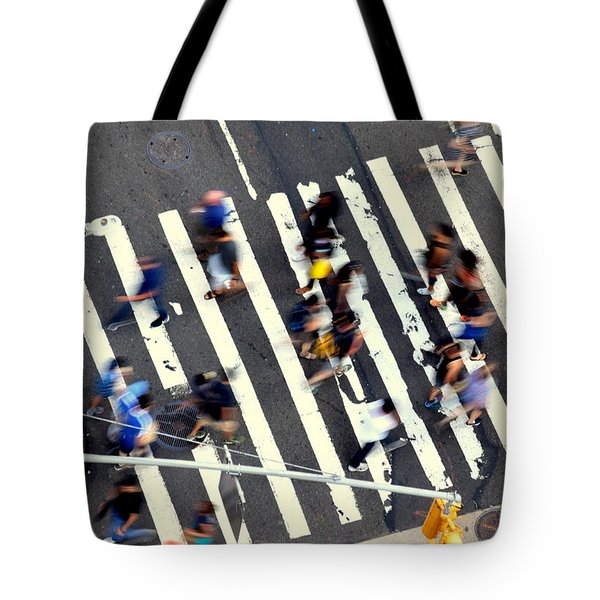 New York Minute Tote Bag