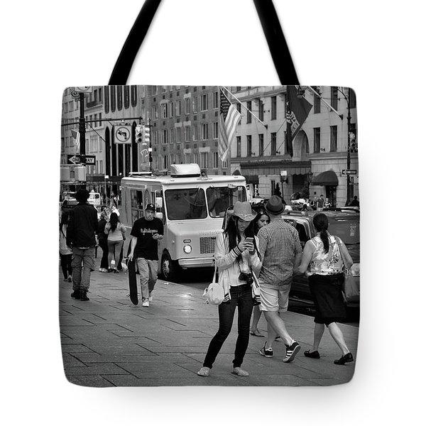 New York, New York 19 Tote Bag