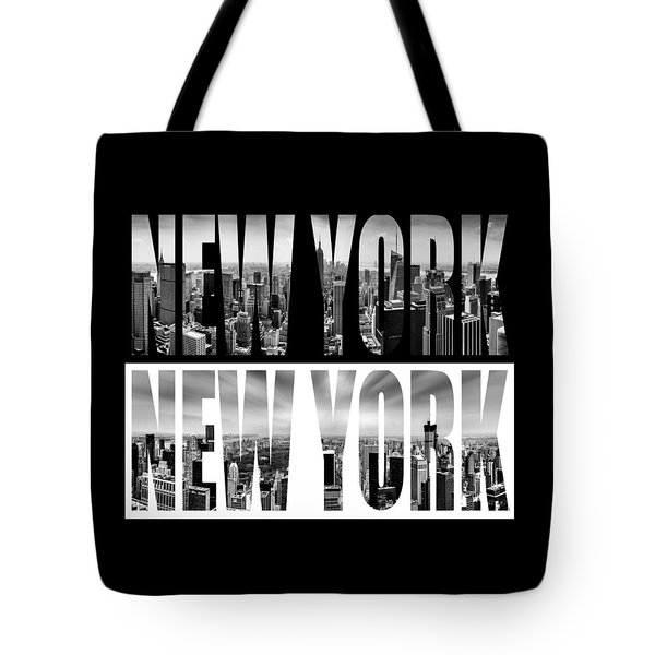 New York New York Tote Bag by Az Jackson