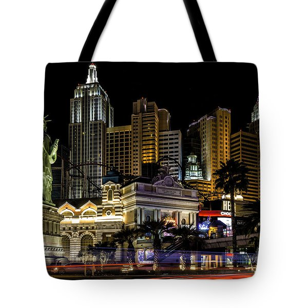 New York New York Las Vegas Tote Bag