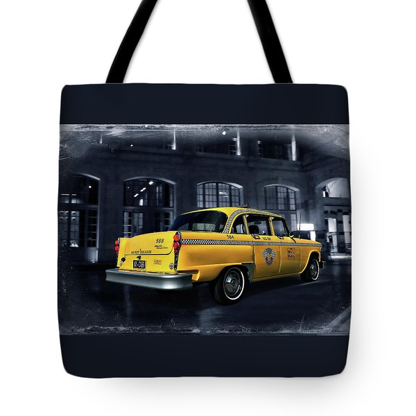 New York - New York Tote Bag by Steven Agius