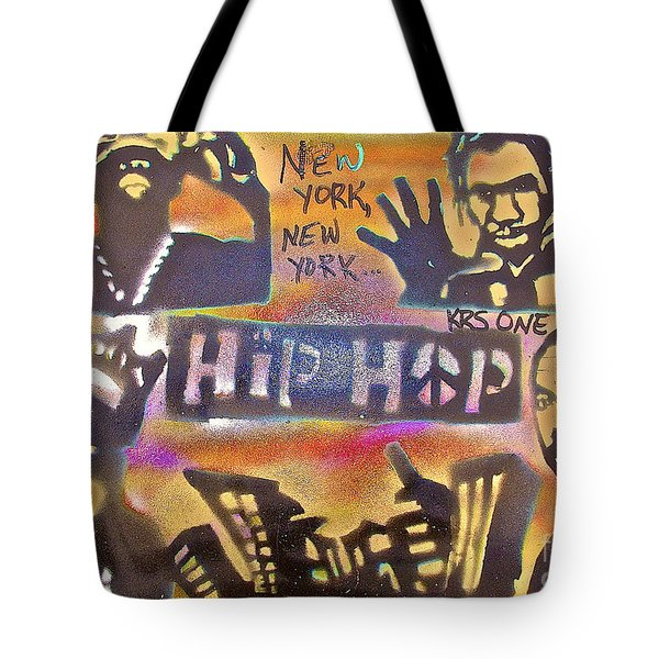 New York New York Tote Bag by Tony B Conscious