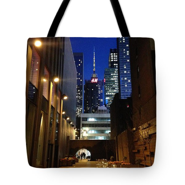 New York Night Tote Bag