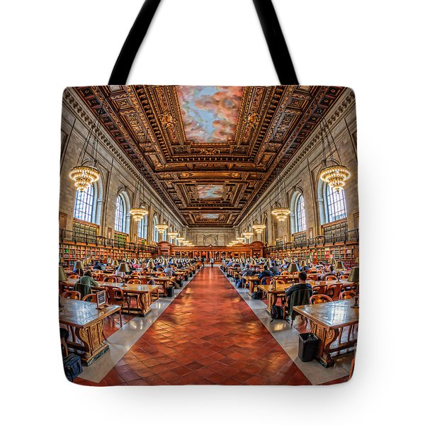 New York Public Library Main Reading Room I Tote Bag