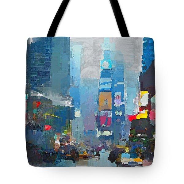 New York Rainy Day Tote Bag