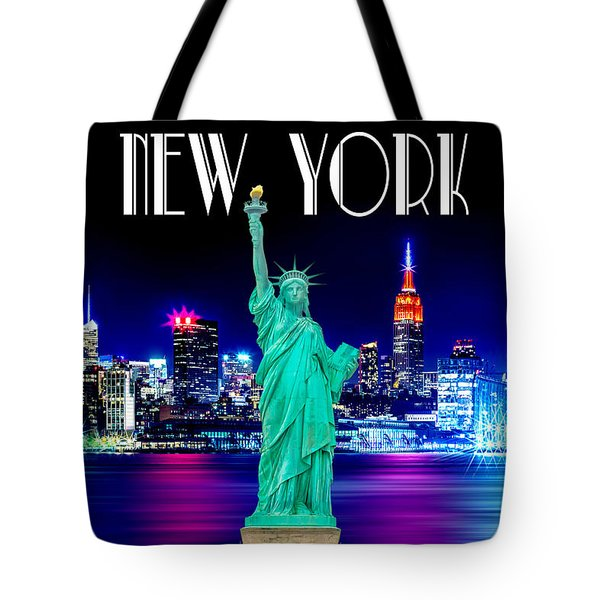 New York Shines Tote Bag