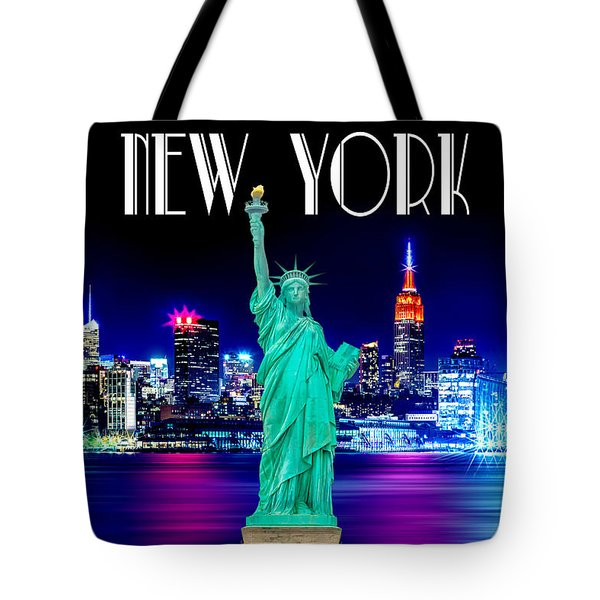 New York Shines Tote Bag