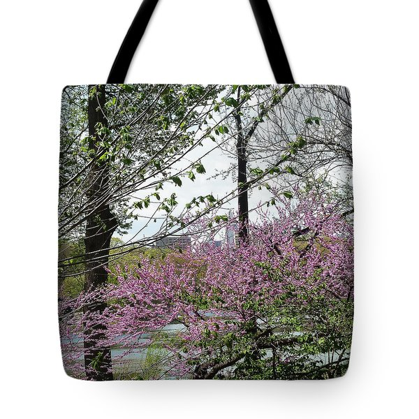 New York Spring Tote Bag