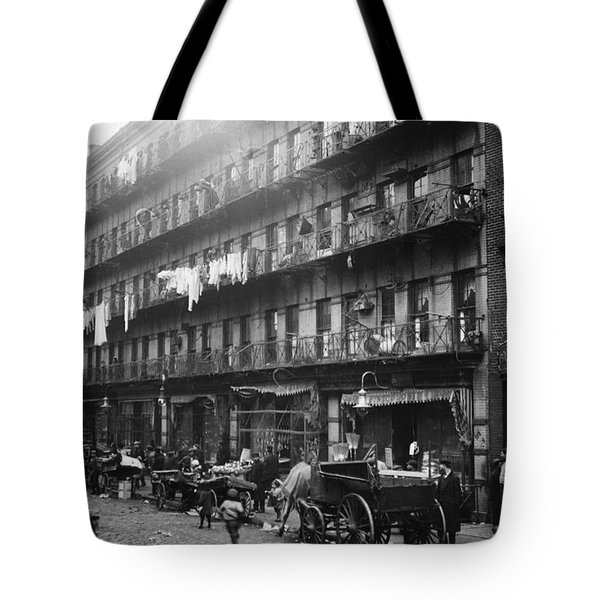New York: Tenements, 1912 Tote Bag by Granger