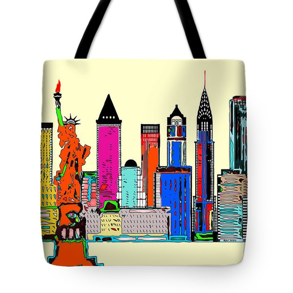 New York - The Big City Tote Bag