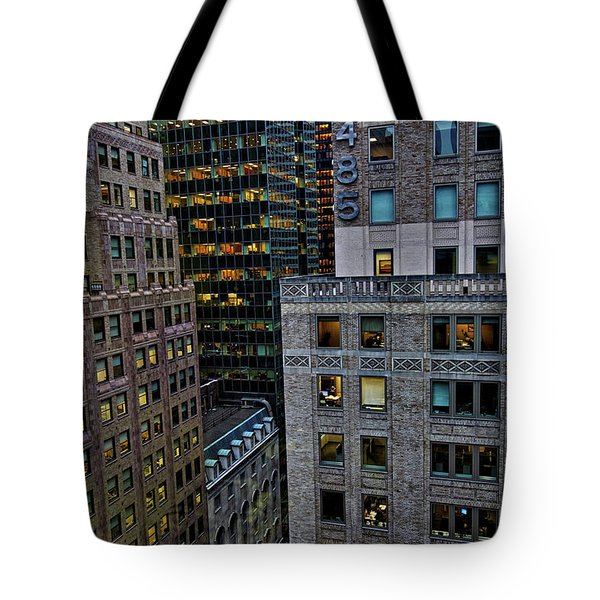 New York Windows Tote Bag