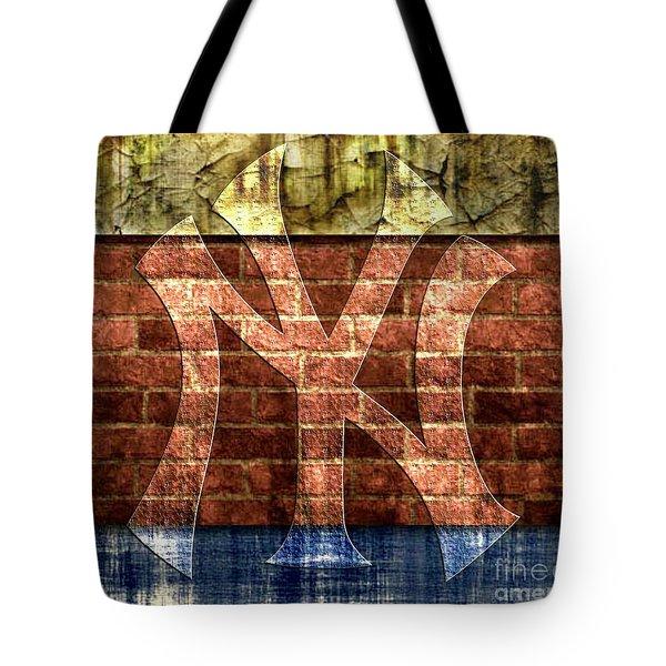 New York Yankees Brick 2 Tote Bag