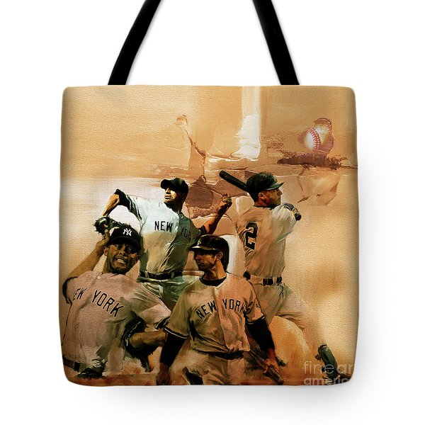 New York Yankees  Tote Bag by Gull G