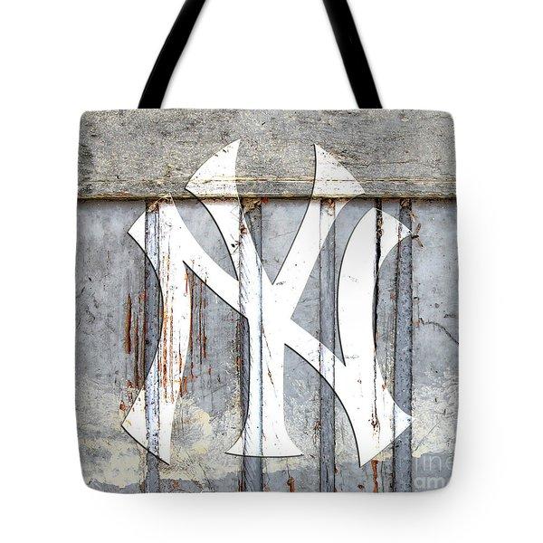 New York Yankees Rustic 2 Tote Bag