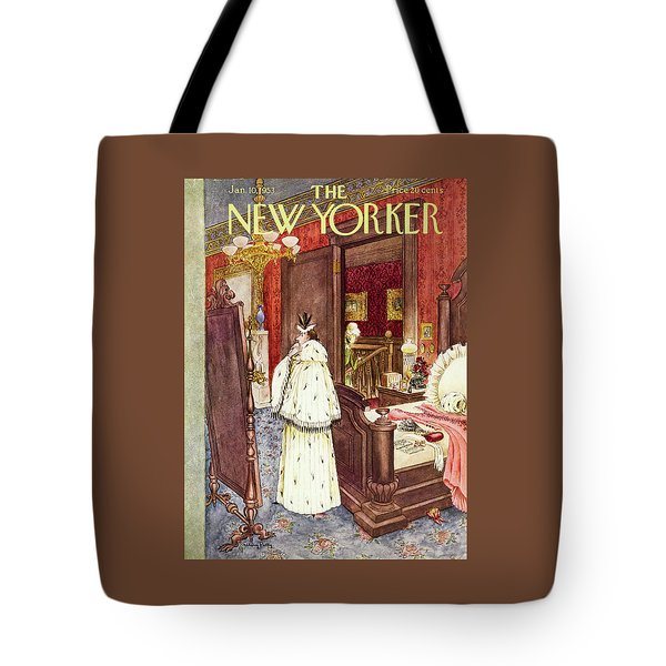 New Yorker January 10 1953 Tote Bag