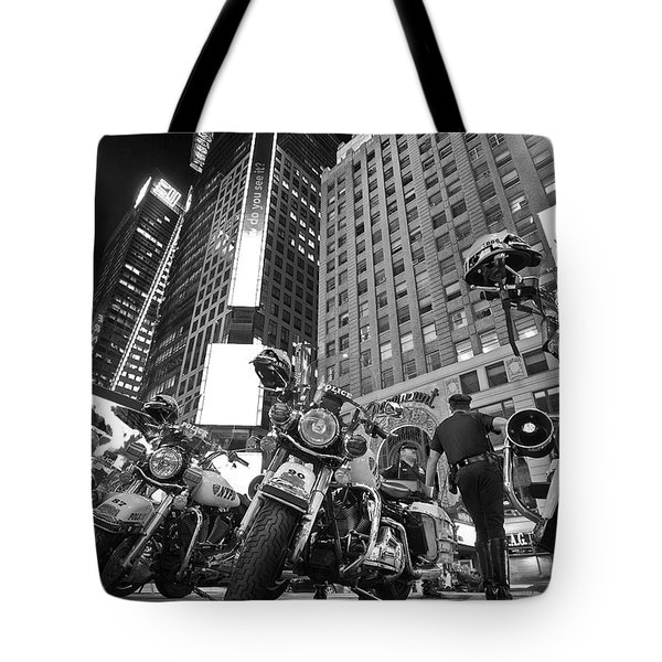New York's Finest Tote Bag by Robert Lacy