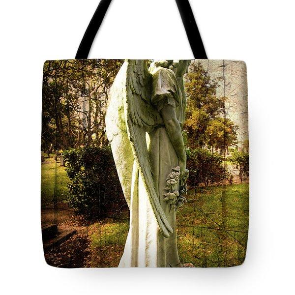 New Zealand Angel Tote Bag