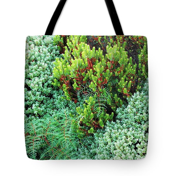 Tote Bag featuring the photograph New Zealand Flora by Michele Penner