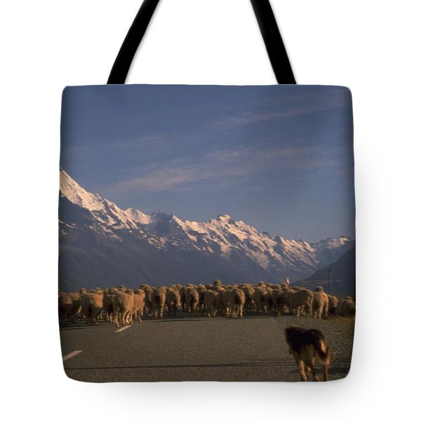 New Zealand Mt Cook Tote Bag by Travel Pics