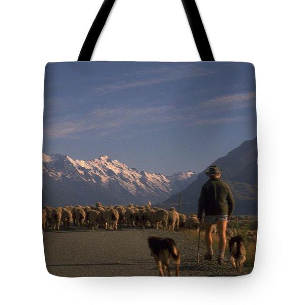 New Zealand Mt Cook Tote Bag