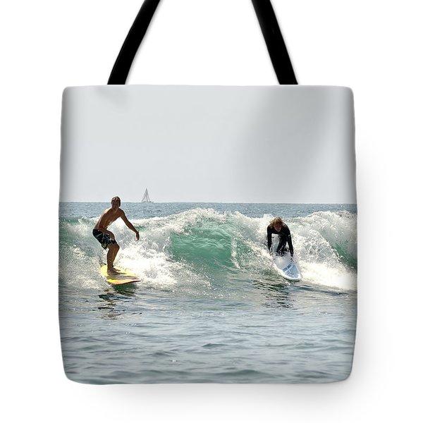 New Zealand Surf Tote Bag
