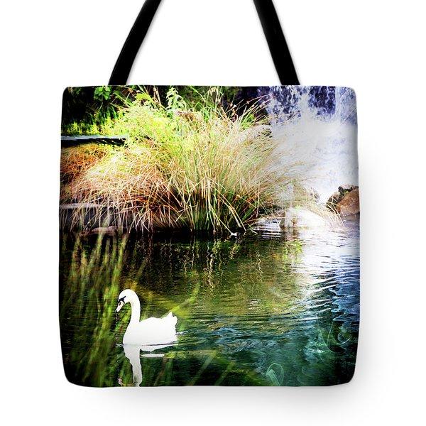 New Zealand Swan Tote Bag