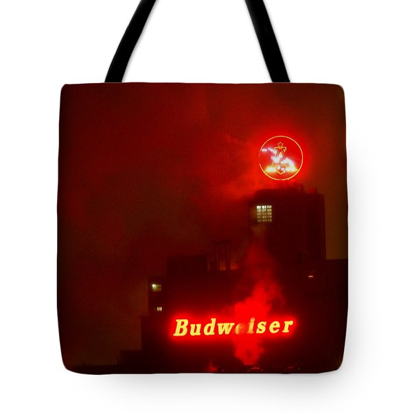 Newark Budweiser Tote Bag