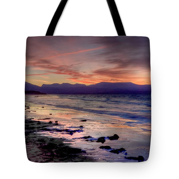 Newborough Sunrise Tote Bag