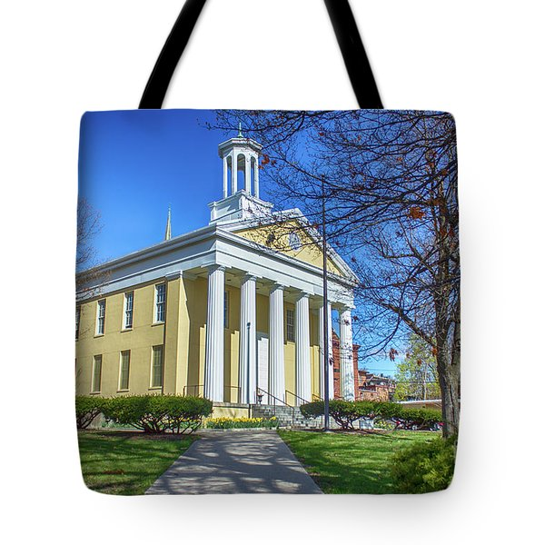 Newburgh Courthouse On Grand Street 1 Tote Bag