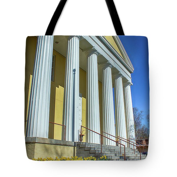 Newburgh Courthouse On Grand Street 2 Tote Bag