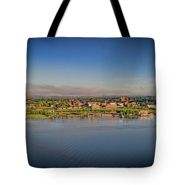 Newburgh, Ny From The Hudson River Tote Bag
