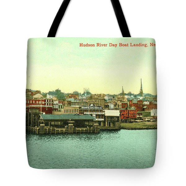Newburgh Steamers Ferrys And River - 15 Tote Bag