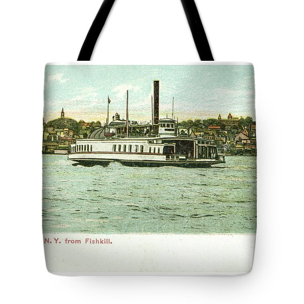 Newburgh Steamers Ferrys And River - 24 Tote Bag