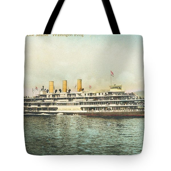 Newburgh Steamers Ferrys And River - 30 Tote Bag