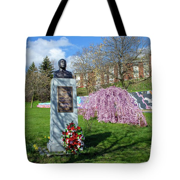 Newburgh's Dr. Martin Luther King Memorial Tote Bag