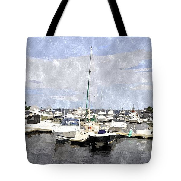 Newburyport Harbor Nhwc Tote Bag
