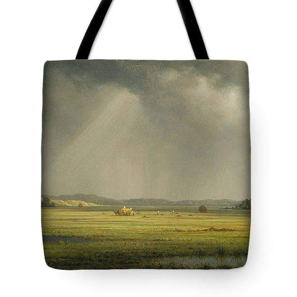Newburyport Meadows Tote Bag by Martin Heade