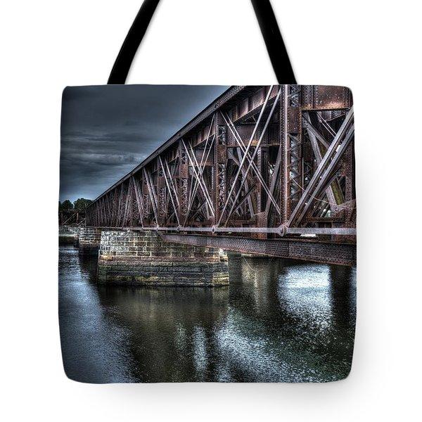 Newburyport Train Trestle Creative Tote Bag