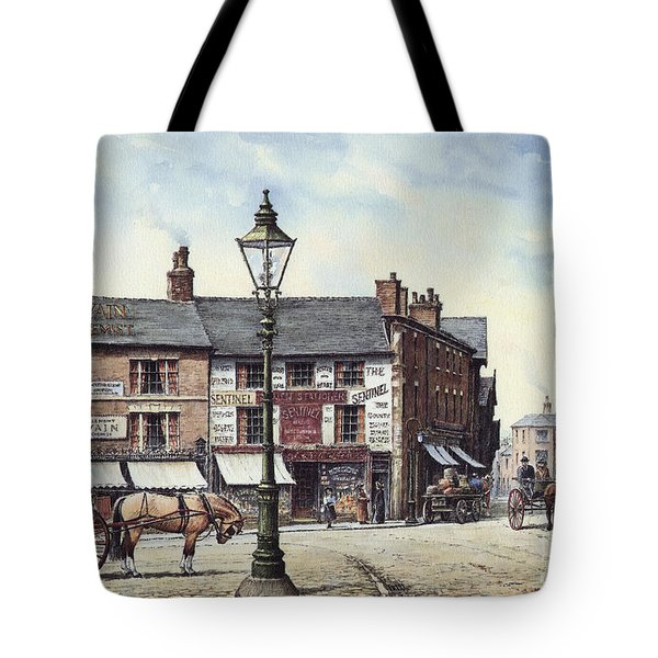 Newcastle-under-lyme Tote Bag