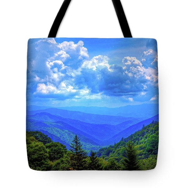 Newfound Gap Tote Bag by Dale R Carlson