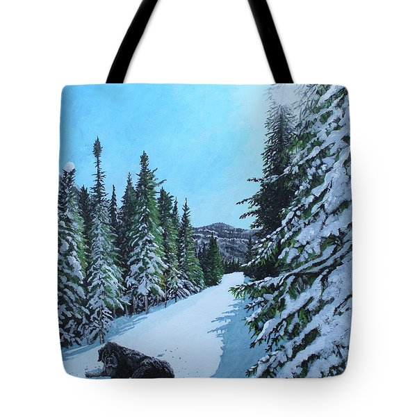 Newfoundland In Labrador II Tote Bag