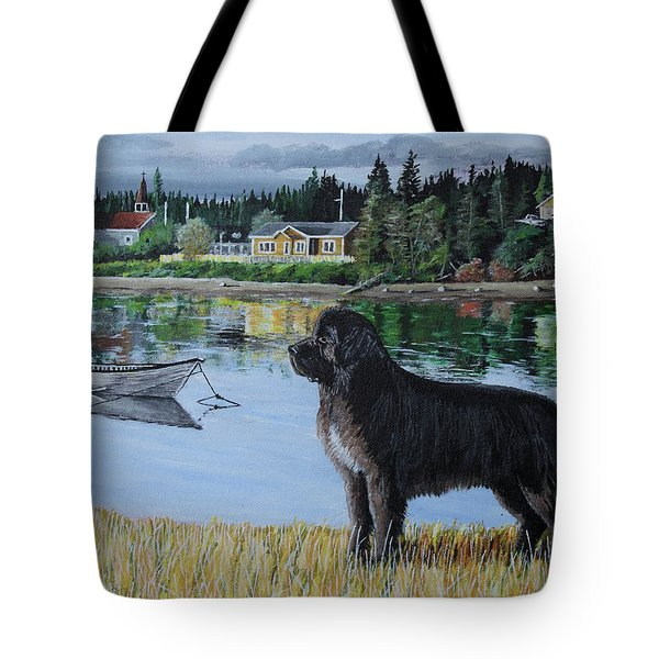 Newfoundland In Labrador Tote Bag