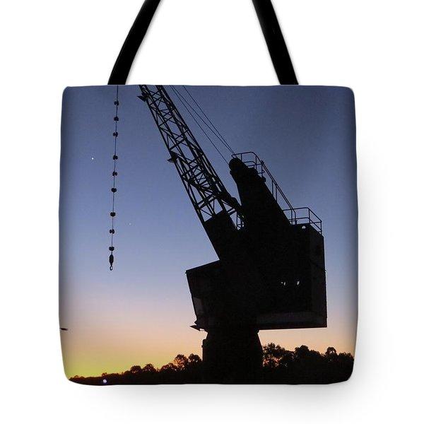 Newington Armoury Crane Tote Bag