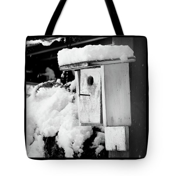 Newly Fallen Snow Tote Bag
